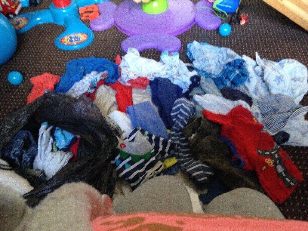 Boys clothes bundle 6/9m