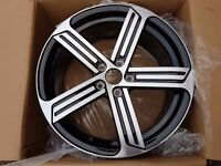 """VW Audi Golf R Style Wheels Available in 18"""""""