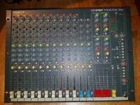 Soundcraft Spirit Folio Rac Pac analogue mixer mixing desk