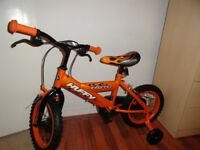 "Unisex Children 14"" Huffy Inferno Bike"