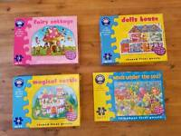 Large orchard puzzles toys for young children VGC!