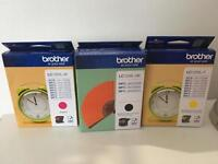 Brother Printing Ink Cartridges 3 Set