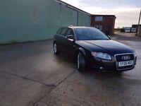 Audi A4 diesel 1.9 reg 2006 black £1550