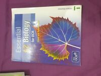 Essential A2 biology for OCR by Glenn and Susan Toole