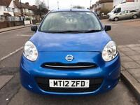 Nissan micra 2012 automatic