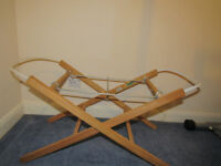 2x moses basket stands