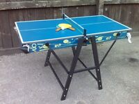 Chiodi Dual Table Tennis/Pool Table - Excellent Condition