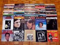 240 Vinyl Records American Country Music Collection Johnny Cash Elvis John Denver LP Joblot Job lot