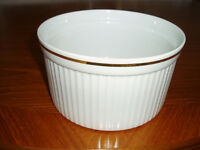 Royal Worcester Souffle Dish