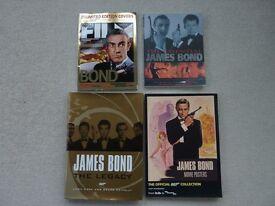 JAMES BOND BOOKS AND MAGAZINE.