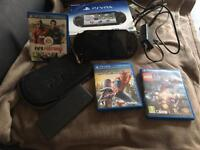 Ps vita slim bundle with extras