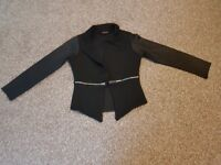 Girls black blazer