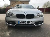 BMW 1 Series 1.6 116d EfficientDynamics Sport Silver 5dr Service History Part Ex Welcome