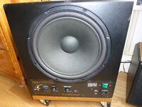 REL Q50 powered sub amp