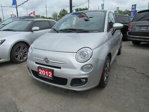 2012 Fiat 500 Sport * LEATHER * POWER ROOF London Ontario image 3