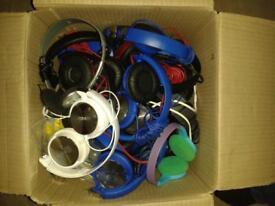 job lot head phones hair dryer straightners