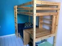 Single high cabin bed