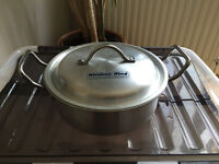 Silver NEW cooking pot