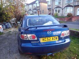 Mazda 6 TS2 2003 patrol + gas (LPG)