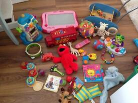 Bundle of baby toddler toys vetch gadget scout teethers