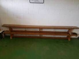 Gym Equipment - Bench, weights, Bars