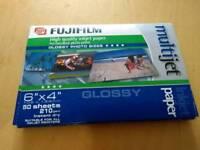 Fujifilm 6x4 glossy photo paper