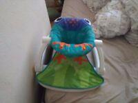 Fisherprice sit me up floor seat