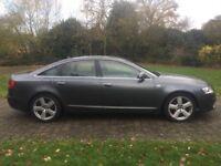 2008 Audi A6 2.0 Diesel S Line Automatic (CVT) 7G 18 Inch Alloy wheels Color screen Sat nav