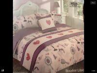 Lipstick double bedding set