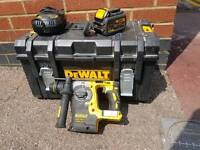 Dewalt DCH274 brushless sds in toughsystem case with 6amp battery and charger