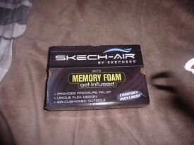 Skech-Air with Memory Foam gel-infused (RED)