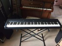 Yamaha P-45 Digital Piano Keyboard, Black (Stand not included)