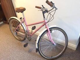 Pink Custom Designed Vintage Style Women's Bicycle/Bike