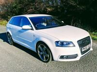 2012 Audi A3 2.0 Tdi S Line Black Edition Sportback ****OWN THIS CAR TODAY FOR £65 A WEEK*****