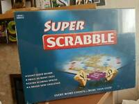 Super Scrabble board game good condition