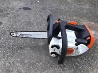 Stihl top handle saw