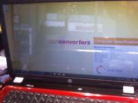HP WINDOWS 10 LAPTOP, 6GB RAM, 500GB HDD, CHARGER
