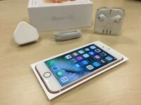 Boxed Rose Gold Apple iPhone 6S 64GB On Vodafone / Lebara Networks Mobile Phone + Apple Warranty