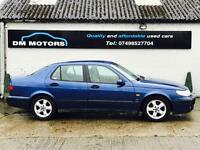Saab 9-5 SE 2.3 TURBO AUTO 2000 LOW MILEAGE AUTO