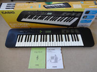 Casio CTK-240 Electronic Keyboard Piano - Boxed with manual