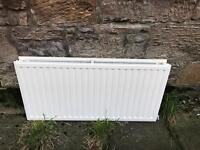 Large radiator (scrap metal) for collection.