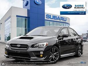 2016 Subaru WRX 4Dr Sport-Tech Pkg 6sp Leather,Roof, Navi, Frt L