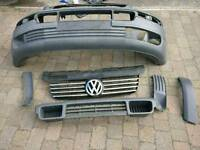 VW t5 front bumper and back bar (2006)