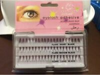 Top Lady individual flare eyelashes black (short,med,long)
