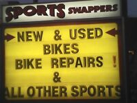 BIKES FOR THE ENTIRE FAMILY - NEW & USED