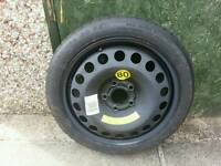 Vauxhall vectra space saver wheel