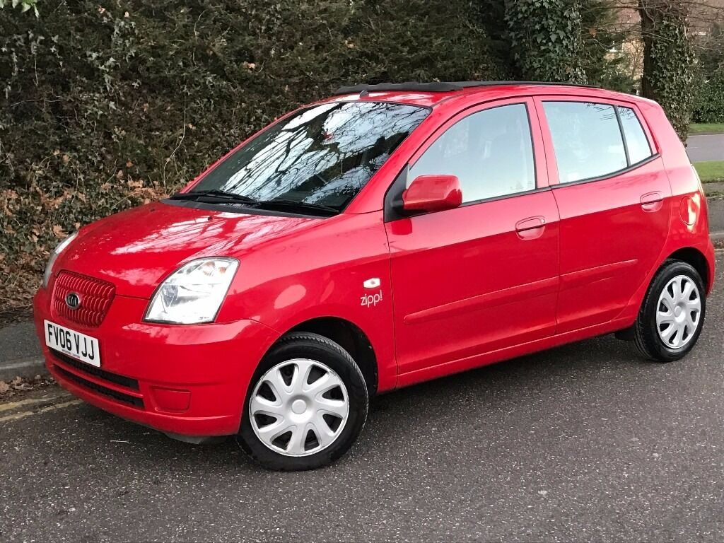 2006 kia picanto zipp 1 0 5 door hacthback with sunroof febuary 2018 mot with service history. Black Bedroom Furniture Sets. Home Design Ideas