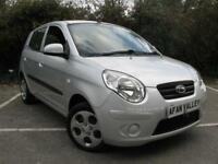 Kia Picanto Spice 5dr *FULL KIS S/HISTORY+1 LADY OWNER* (silver) 2011