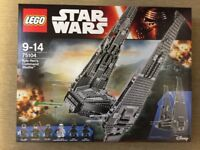 Lego 75104 - Star Wars Kylo Ren's Command Shuttle - Brand New in the Box and Sealed