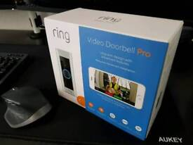 Ring Video Doorbell Pro - Kit with chime and transformer - Unopened/Sealed